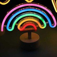 USB Neon Led Unicorn Sign Night Light Flamingo