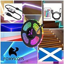 USB Power LED Strip Lights 5050 RGB TV Backlight