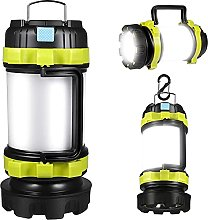USB Rechargeable Camping Lantern LED Torch, Ultra
