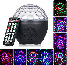 USB Rechargeable Disco Ball Light with IR Remote