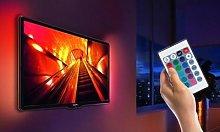 USB TV LED Backlight with Optional Remote: 100cm