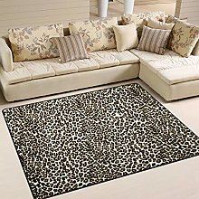 Use7 Abstract Leopard Print Area Rug Rugs for