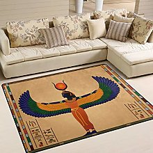 Use7 Ancient Egypt Hieroglyphic Area Rug Rugs for