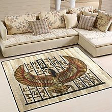 Use7 Ancient Egyptian Parchment Area Rug Rugs for