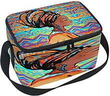 Use7 Artwork African Woman Ethnic Insulated Lunch