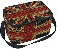 Use7 British Flag Union Jack Insulated Lunch Bag