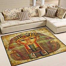 Use7 Egyptian Vellum Artwork Area Rug Rugs for