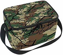 Use7 Fashionable Camouflage Camo Insulated Lunch