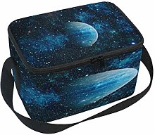Use7 Galaxy Nebula Starry Star Insulated Lunch Bag