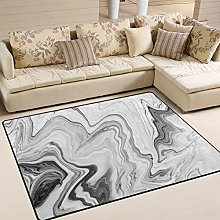 Use7 Hipster Marble Print Area Rug Rugs for Living