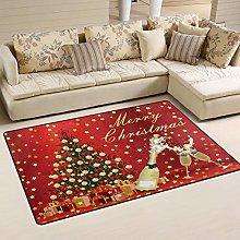 Use7 Merry Christmas Santa Claus Tree Snowflake