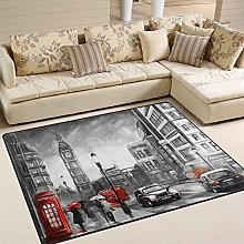 Use7 Oil Painting Street of London Big Ben