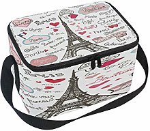 Use7 Paris Eiffel Tower France Letters Insulated