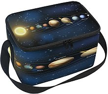 Use7 Planet Solar System Universe Insulated Lunch