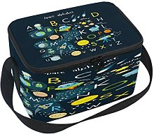 Use7 Space Solar System Alphabet ABC Insulated