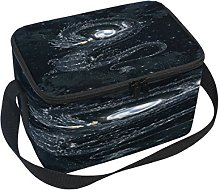 Use7 Starry Sky Dragon Insulated Lunch Bag Tote