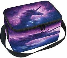 Use7 Unicorn Galaxy Nebula Cloud Insulated Lunch