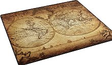 Use7 Vintage World Map Area Rug for Living Room