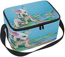 Use7 Watercolor French Bulldog Dog Puppy Insulated