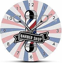Usmnxo 12 inches frameless barber shop commercial