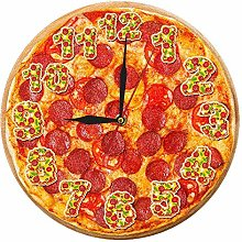 Usmnxo 12 inches frameless pepperoni pizza wall