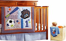 USTIDE 7-piece Boys Nursery Crib Bedding Set
