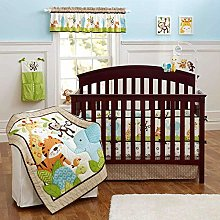 USTIDE 7-piece Nursery Crib Bedding Set for Boys