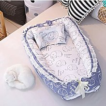 USTIDE Baby Bassinet Cute Elephant Bedding 100%