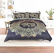 USTIDE Duvet Cover India Bohemian Comforter Cover