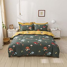 USTIDE Girls Kids Bedding Set Green Bedding Sets