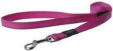 Utility Fixed Dog Lead (1.4m x 16mm) (Pink) - Rogz