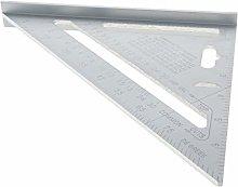 Utoolmart 7inch Triangular Protractor Aluminum