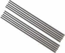 Utoolmart Round Steel Rod, 4mm HSS Lathe Bar Stock