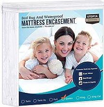 Utopia Bedding Waterproof Zippered Mattress