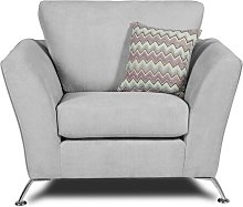 Uttoxeter Armchair Sofa Factory Upholstery Colour: