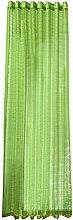 UULIKE--Curtains 1 Pcs 250x150cm Lattice Tulle