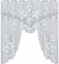 UULIKE--Curtains 1Pcs Lace knitting Transparent