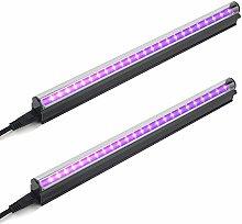UV Black Light Bar, 10W 1ft T5 USB Portable Led