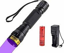 UV Torch, UV Flashlight 365nm Black Light,
