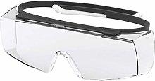 Uvex Super OTG Safety Work Glasses - Transparent