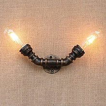 UWY Individuality Vintage Wall Light Water Pipe