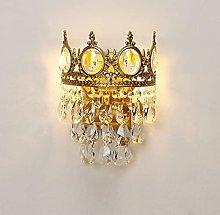 UWY LED Nordic Modern Loft Wall Sconce K9 Crystal