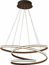UWY Modern LED pendant lights, metal chandelier