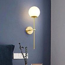 UWY Modern Wall Lamp Luxury Copper Wall Light Wall