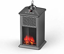 UWY Portable electric fireplace The mood light