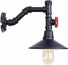 UWY Retro Industrial Creativity Wall Lamp Black