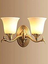 UWY Retro Luxury Wall Lights Industrial Decoration
