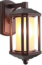 UWY Retro Wall Lighting Fixture With Glass