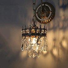UWY Vintage Crystal Wall Light Industrial Lighting