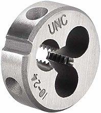 uxcell 10-24 UNC Round Die, Machine Thread Right